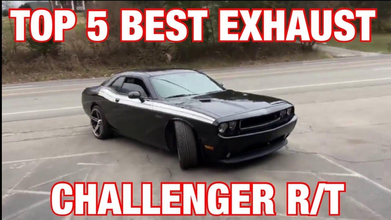 top 5 best exhaust set ups for dodge challenger r t 5 7l hemi