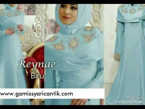 Baju Gamis Pesta Mewah Reynae