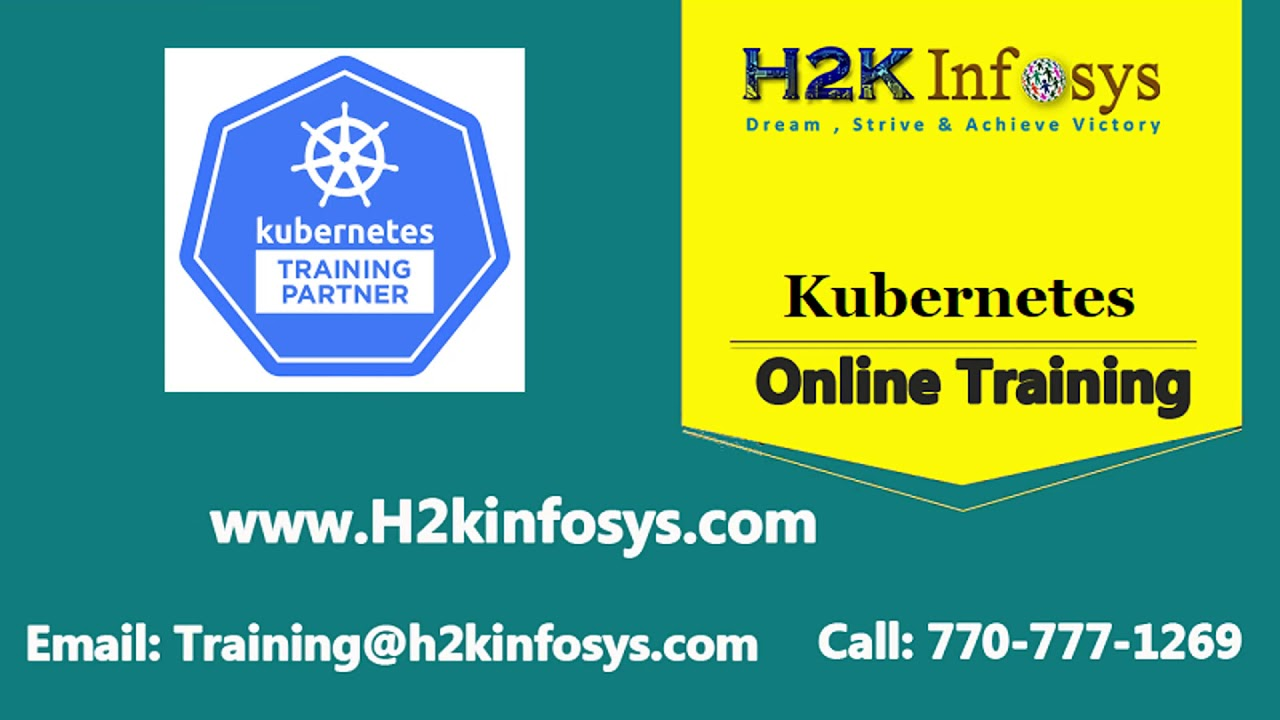Kubernetes Training | Best Kubernetes Course - 100% Job Oriented