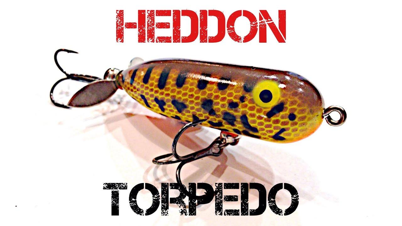 Lure review heddon torpedo youtube for Torpedo fishing lure