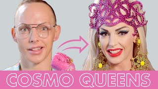 Best of Alyssa Edwards' Drag Makeup Transformations! | Cosmo Queens | Cosmopolitan