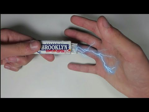 How To Make Electric Shock Chewing Gum Packet