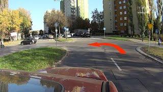 Jedź bezpiecznie odc. 719 (Egzamin na prawo jazdy - trudne miejsca w Krakowie)