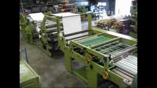 bielomatik P 15-90 87 school exercise book making machine by pacopar  .wmv