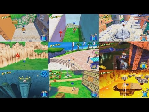 Super Mario Sunshine All Blue Coins