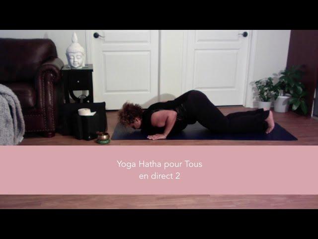 Yoga Hatha (pour tous) en ligne - cours 2
