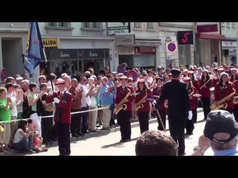 Kadettenmusik Horgen Parade