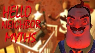 DO THE MANNEQUINS REVEAL A FAMILY SECRET?! | Hello Neighbor Myths