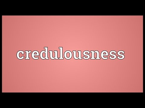 Header of credulousness