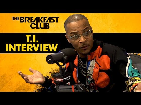 T.I. Speaks On Confronting Kanye West For His Donald Trump S