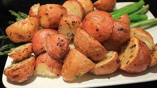 Roasted Red Potatoes w  Thyme  Super Easy !