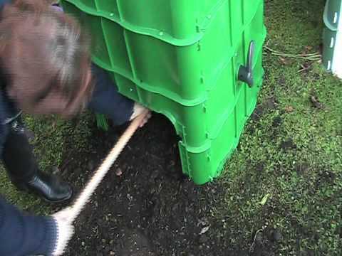 richtige kompostwirtschaft im garten doovi. Black Bedroom Furniture Sets. Home Design Ideas