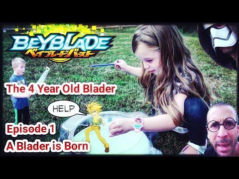 THE 4 YEAR OLD BLADER - A Beyblade Burst Original Series - Ep1 - A BLADER IS BORN
