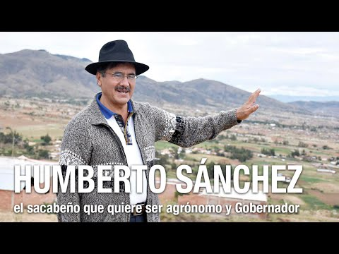 Sánchez, el sacabeño que quiere ser agrónomo y Gobernador