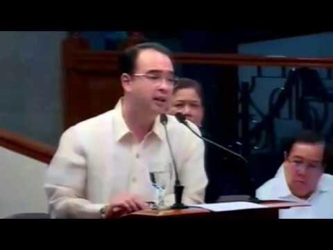 Senator Allan Peter Cayetanos Discourse Vs Laila De Limas Speech