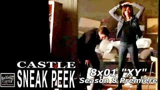 "Castle 8x01 Sneak Peek # 1 ""XY"" Hayley and Castle Season  8 Episode 1 Sneak 