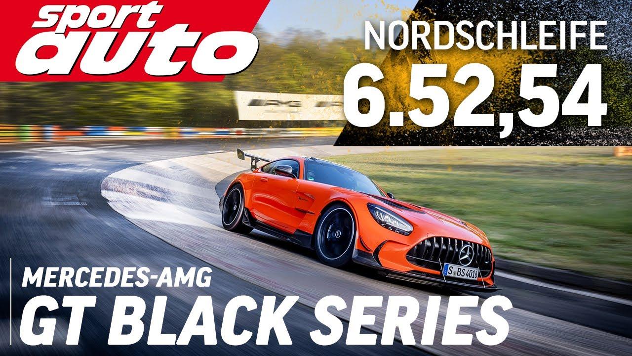 Mercedes-AMG GT Black Series | 6.52,54 min Nordschleife HOT LAP | sport auto Supertest