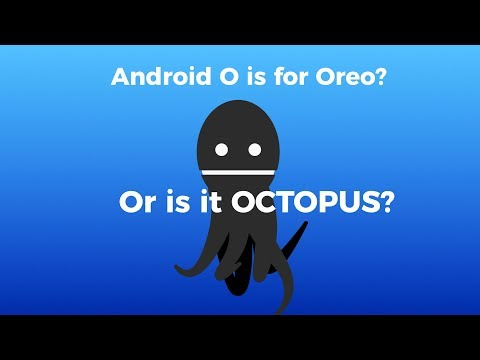 Android O Is For Octopus? 🐙