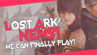 LOST ARK NEWS! KR Open beta On November 7th - We Can Finally Play!