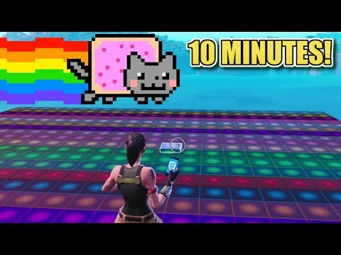 I Made NYAN CAT Using Fortnite Music Blocks In 10 Minutes!