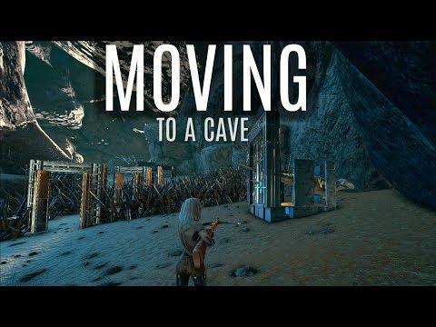 MOVING TO A CAVE! and Dying For Sap - Official 6 Man Servers (E4) - ARK Survival