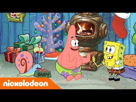 Посиделки у камина с Губкой Бобом   Nickelodeon Россия