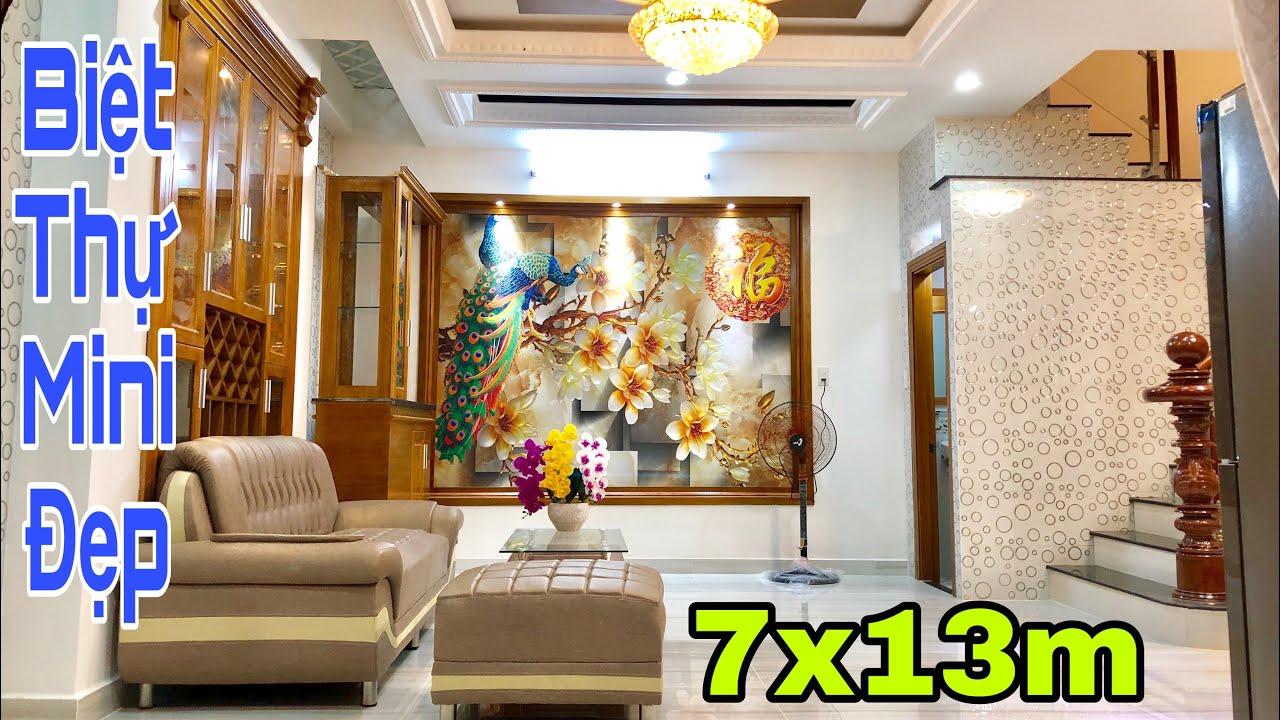 Bán nhà Gò Vấp   Siêu biệt thự mini 7x13m tại đường Nguyễn Oanh   giá rẻ 6.48 tỷ