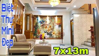 Bán nhà Gò Vấp | Siêu biệt thự mini 7x13m tại đường Nguyễn Oanh | giá rẻ 6.48 tỷ
