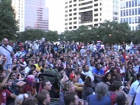 Occupy Atlanta Turns Away John Lewis
