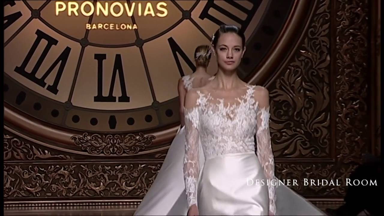 Atelier Pronovias 2016 Bridal Collection - Long Sleeves Wedding ...