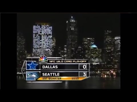 Cowboys @ Seahawks 2006 NFC Playoffs condensed