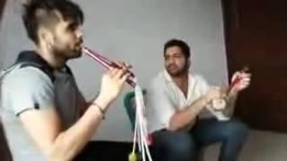 Punjabi Singer Ninja Sing A song With Full Fun In studio | Punjabi Song