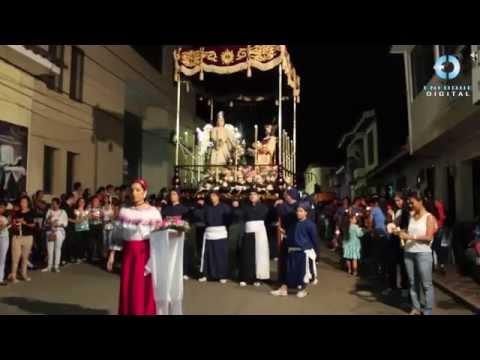 Procesión Jueves Santo 2014 Santander de Quilichao