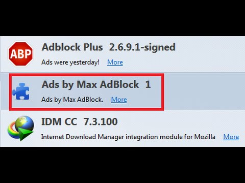 How To Remove Ads by Max Adblock Adware (Quick Tutorial)