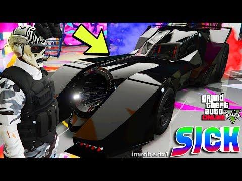 GTA 5 Triple Black Paint Job Patriot Tire Smoke Batmobile Vigilante Modded Crew Color GTA 5 Glitches