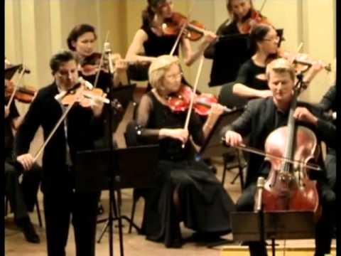 MUZA Rubackyte. Liudwig Van Beethoven's Concert for Piano, Violin and Orchestra (part 2).