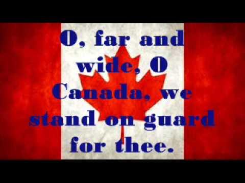 Canadian National Anthem ~ Lyrics