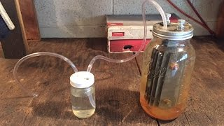 Repeat youtube video making a hydrogen generator (HHO gas)