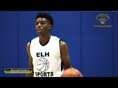 Ronnie Golden 2017 PG | Sneaky Quick Competitor That Can Get By The Defender