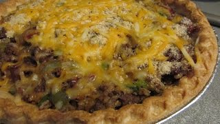 Cajun Dirty Rice Meat Pie