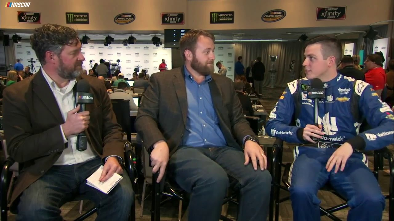 Bowman dishes on Dale Jr.'s congratulatory text