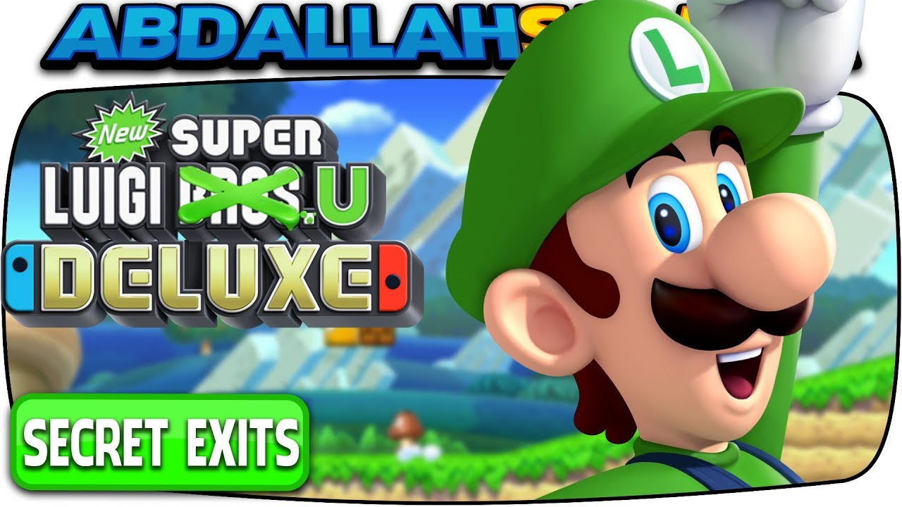 New Super Mario Bros U Deluxe All Secret Exits Where To Find Them Youtube