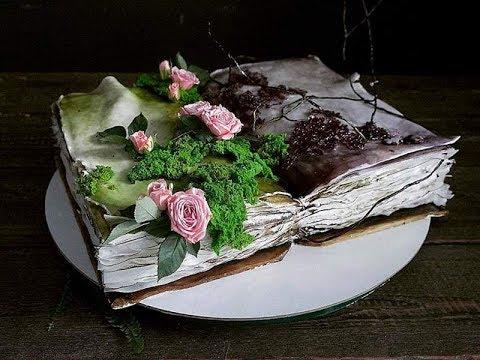 Потрясающие торты кондитера Елены Гнут.