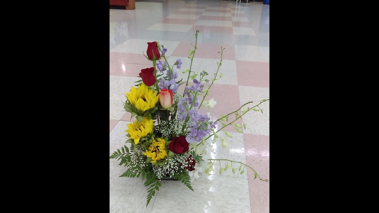 Como Hacer Arreglos Florales Exoticos Elegantes Y Por