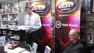 Violent Causes launch at Galaxy Bookshop, Sydney