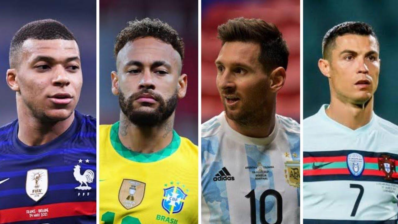 Ronaldo Ya Lili Vs Messi Paris Vs Neymar Parado no Bailão Vs Mbappe Montero