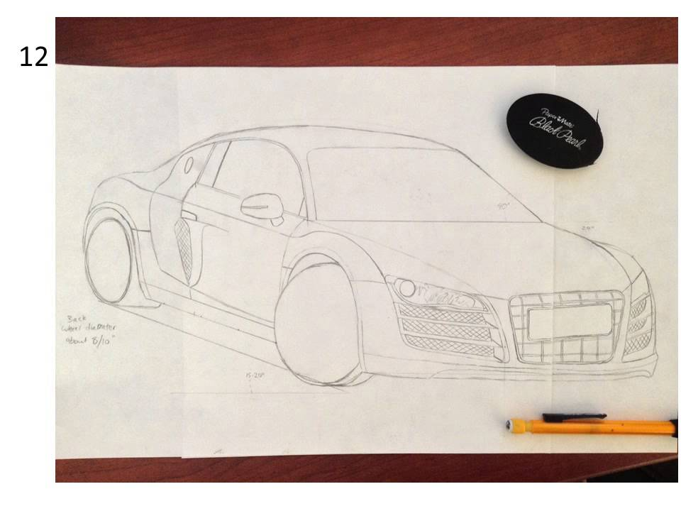 Line Drawing Of Car : Sports car drawing easy at getdrawings free for personal use