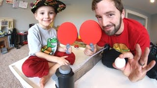 FATHER SON MINI PING PONG!