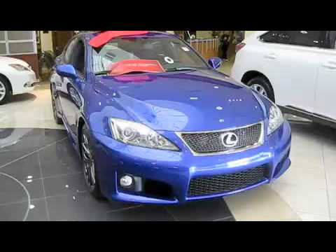 The 2010 Lexus IS-F Detailed Overview of the Interior, Exterior, and Engine