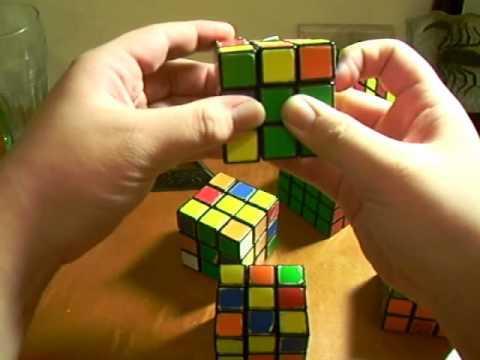 3x3x3魔術方塊基本解法教學 part-2 第二層 - YouTube